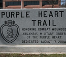 Purple Heart Trail Arkansas